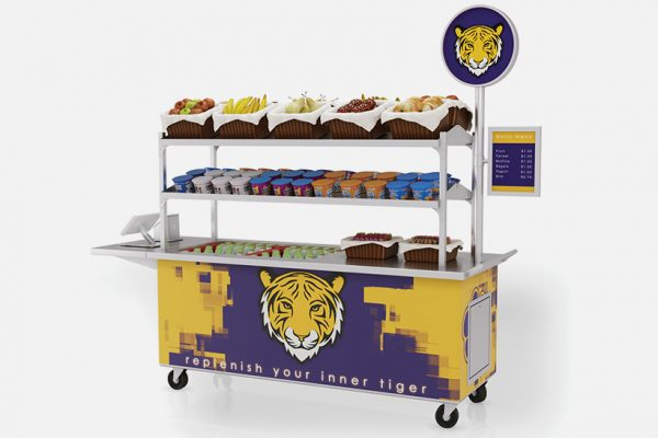 Cold pack cart by LTI, Inc.