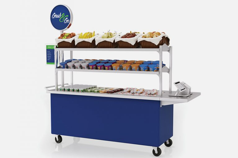 High Volume Breakfast mobile cart by LTI, Inc.