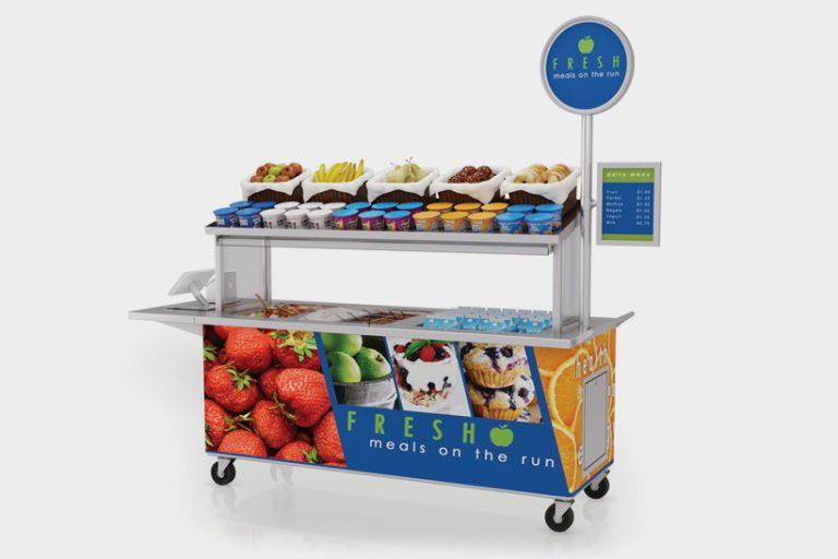 Multi-purpose mobile food cart by LTI, Inc.