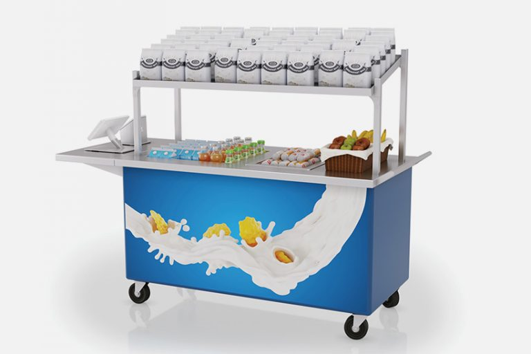 Streamline hot well mobile cart by LTI, Inc.