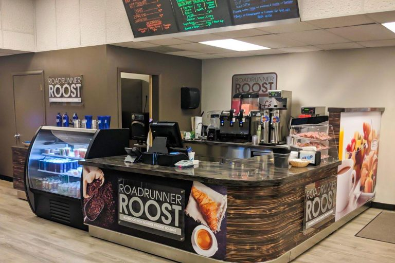 Library Coffee Bar, Holbrook High School, Arizona