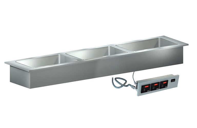 ThermalWell Hot Food Drop-In Slimline, Dry Only Heat Models