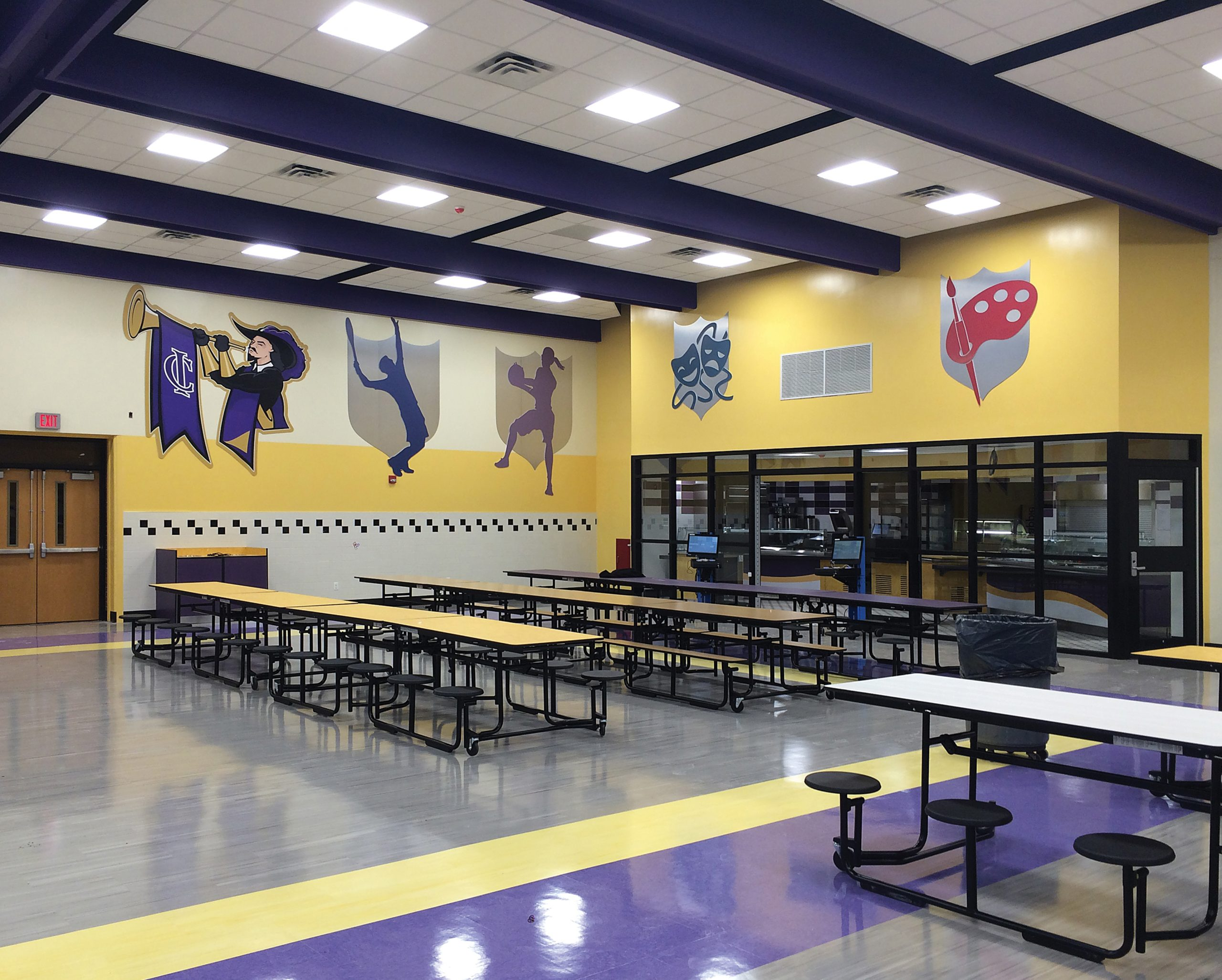 central islip high school cafeteria
