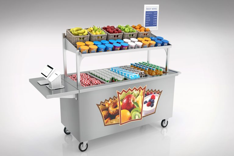lti basic breakfast cart