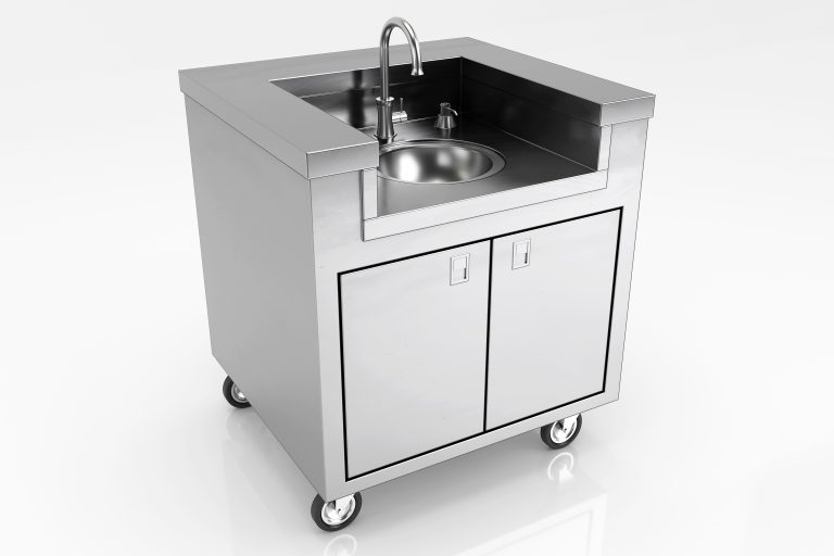 standalone stainless steel sink deluxe