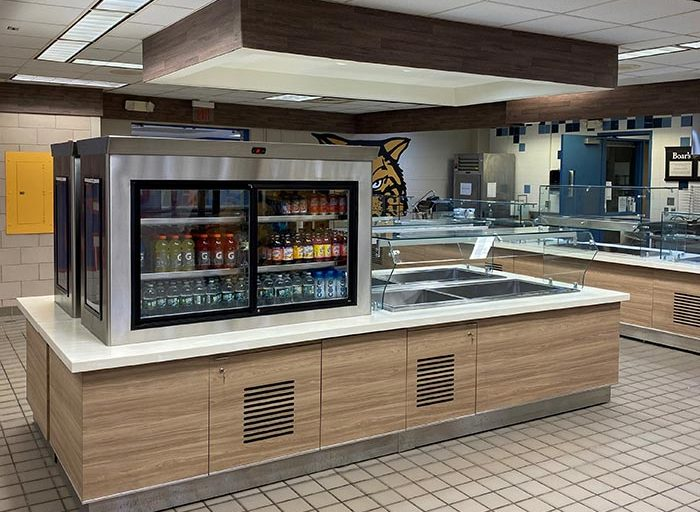 byram hills high school cafeteria remodeL featured image