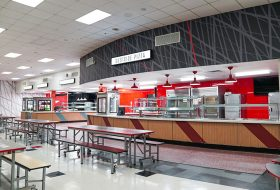 westside high school jacksonville cafeteria renovation servery
